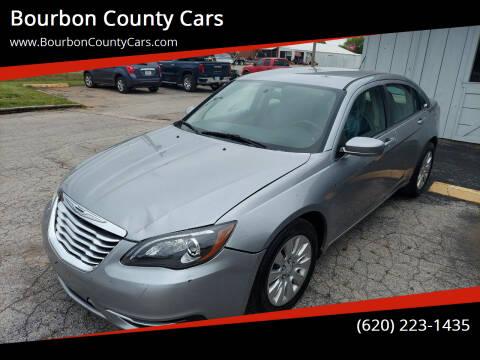 2013 Chrysler 200 for sale at Bourbon County Cars in Fort Scott KS