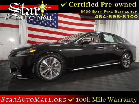 2018 Lexus LS 500 for sale at STAR AUTO MALL 512 in Bethlehem PA