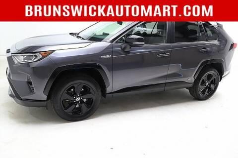 2020 Toyota RAV4 Hybrid for sale at Brunswick Auto Mart in Brunswick OH