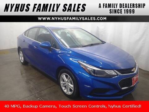2017 Chevrolet Cruze for sale at Nyhus Family Sales in Perham MN