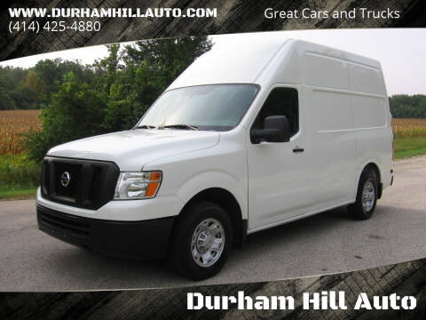 2018 Nissan NV Cargo for sale at Durham Hill Auto in Muskego WI