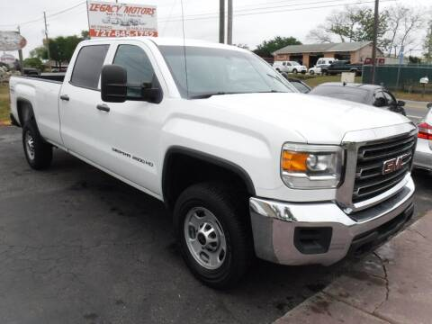 2015 GMC Sierra 2500HD for sale at LEGACY MOTORS INC in New Port Richey FL
