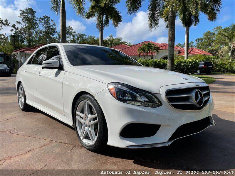 2014 Mercedes-Benz E-Class for sale at Autohaus of Naples in Naples FL
