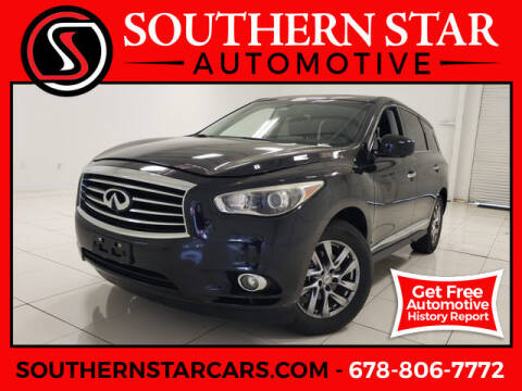 2013 Infiniti JX35 for sale at Southern Star Automotive, Inc. in Duluth GA