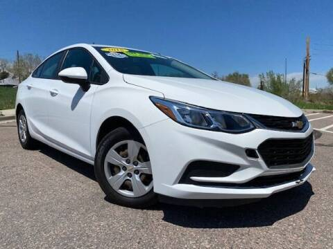 2018 Chevrolet Cruze for sale at UNITED Automotive in Denver CO