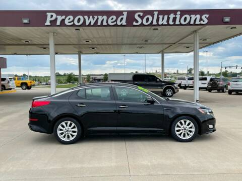 2015 Kia Optima for sale at Preowned Solutions in Urbandale IA