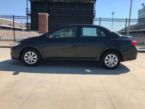 2010 Toyota Corolla for sale at ALL AMERICAN FINANCE AND AUTO in Houston TX