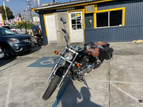 2000 Yamaha VStar for sale at Good Vibes Auto Sales in North Hollywood CA