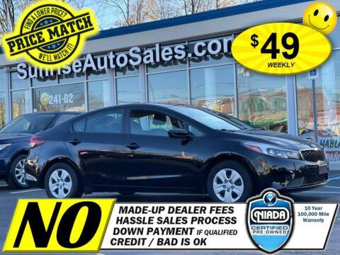2017 Kia Forte for sale at AUTOFYND in Elmont NY