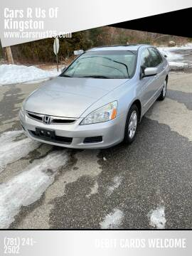 2007 Honda Accord for sale at Cars R Us Of Kingston in Kingston NH
