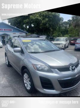2011 Mazda CX-7 for sale at Supreme Motors in Tavares FL