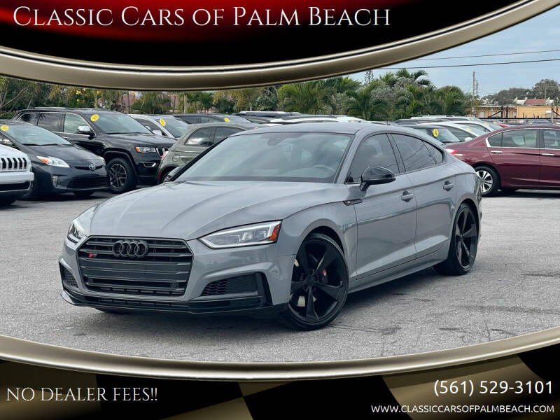 2019 Audi S5 Sportback for sale at Classic Cars of Palm Beach in Jupiter FL