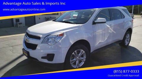 2013 Chevrolet Equinox for sale at Advantage Auto Sales & Imports Inc in Loves Park IL