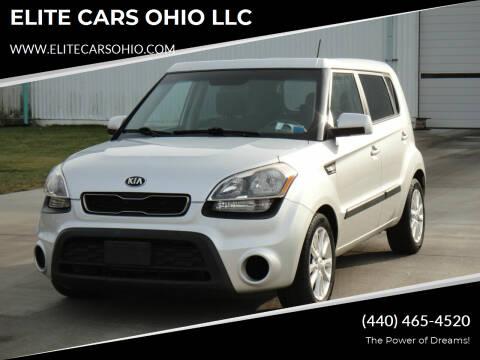 2013 Kia Soul for sale at ELITE CARS OHIO LLC in Solon OH