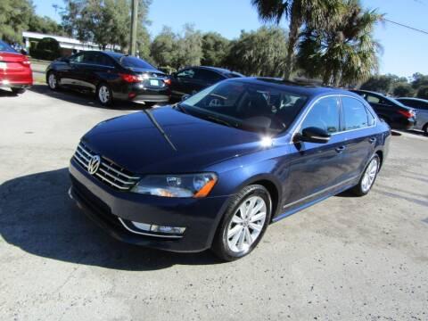 2013 Volkswagen Passat for sale at S & T Motors in Hernando FL