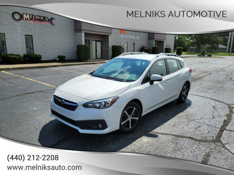 2020 Subaru Impreza for sale at Melniks Automotive in Berea OH