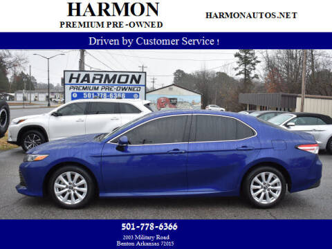 2018 Toyota Camry for sale at Harmon Premium Pre-Owned in Benton AR
