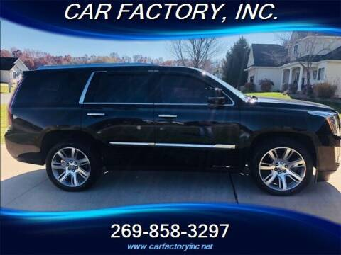 2015 Cadillac Escalade for sale at Car Factory Inc. in Three Rivers MI