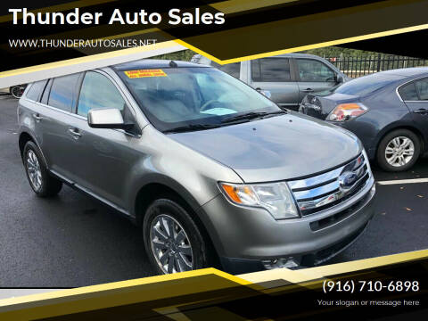 2008 Ford Edge for sale at Thunder Auto Sales in Sacramento CA