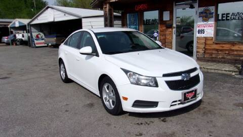 2014 Chevrolet Cruze for sale at LEE AUTO SALES in McAlester OK