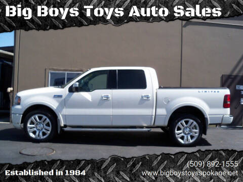 2008 Ford F-150 for sale at Big Boys Toys Auto Sales in Spokane Valley WA