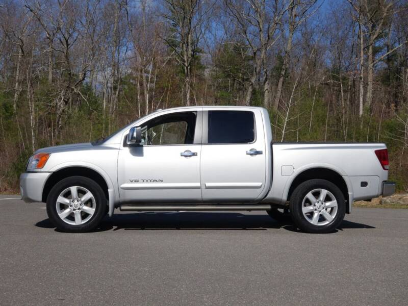 2011 Nissan Titan for sale at Auto Mart in Derry NH