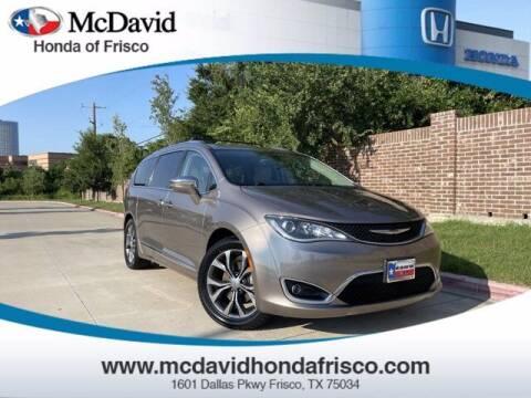 2017 Chrysler Pacifica for sale at DAVID McDAVID HONDA OF IRVING in Irving TX