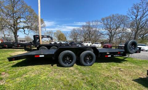 "2021 HD 83""x20' 3500LB Axles CarHauler for sale at TINKER MOTOR COMPANY in Indianola OK"