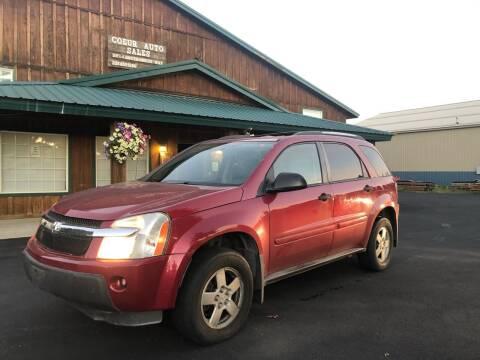2005 Chevrolet Equinox for sale at Coeur Auto Sales in Hayden ID