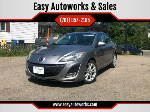 2011 Mazda MAZDA3 for sale at Easy Autoworks & Sales in Whitman MA