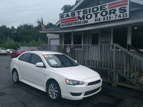 2011 Mitsubishi Lancer for sale at EASTSIDE MOTORS in Tulsa OK