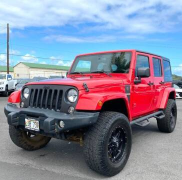 2018 Jeep Wrangler JK Unlimited for sale at PONO'S USED CARS in Hilo HI