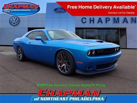 2016 Dodge Challenger for sale at CHAPMAN FORD NORTHEAST PHILADELPHIA in Philadelphia PA