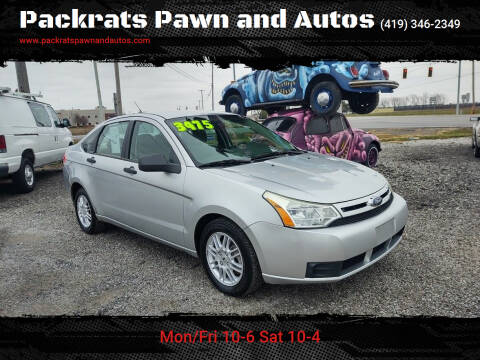 2010 Ford Focus for sale at Packrats Pawn and Autos in Defiance OH