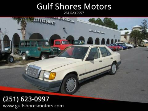 1987 Mercedes-Benz 300-Class for sale at Gulf Shores Motors in Gulf Shores AL
