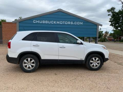 2011 Kia Sorento for sale at Chubbuck Motor Co in Ordway CO