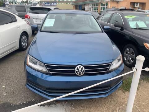 2017 Volkswagen Jetta for sale at Park Avenue Auto Lot Inc in Linden NJ