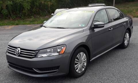 2014 Volkswagen Passat for sale at Bik's Auto Sales in Camp Hill PA