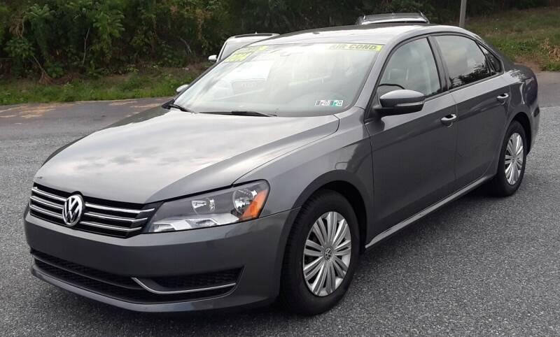 2014 Volkswagen Passat for sale at Bik's Auto Sales in Camp Hill PA