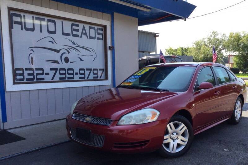 2013 Chevrolet Impala for sale at AUTO LEADS in Pasadena TX