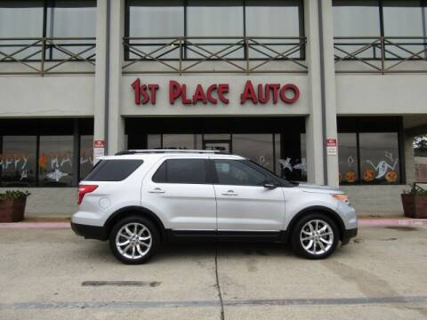 2015 Ford Explorer for sale at First Place Auto Ctr Inc in Watauga TX