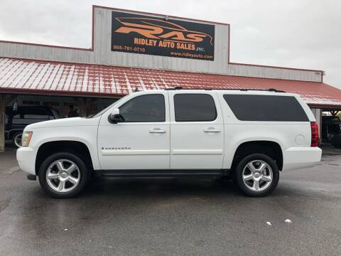 2007 Chevrolet Suburban for sale at Ridley Auto Sales, Inc. in White Pine TN