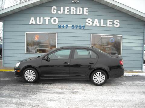2010 Volkswagen Jetta for sale at GJERDE AUTO SALES in Detroit Lakes MN