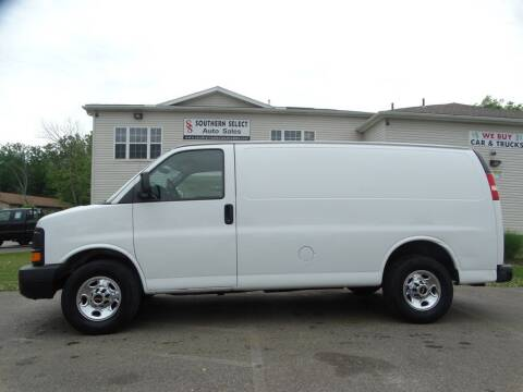 2013 GMC Savana Cargo for sale at SOUTHERN SELECT AUTO SALES in Medina OH