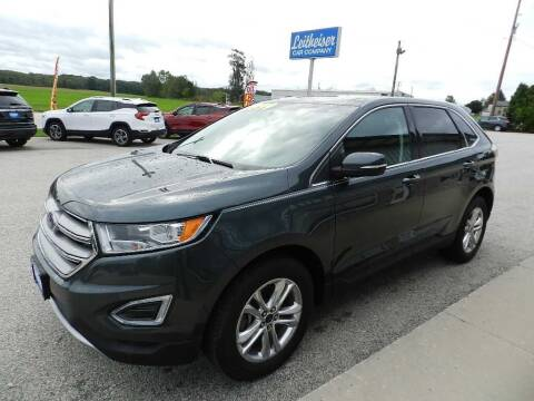 2015 Ford Edge for sale at Leitheiser Car Company in West Bend WI