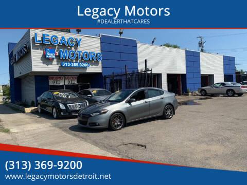 2013 Dodge Dart for sale at Legacy Motors in Detroit MI