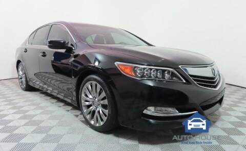 2017 Acura RLX for sale at Curry's Cars Powered by Autohouse - Auto House Scottsdale in Scottsdale AZ