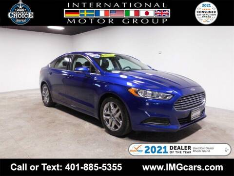 2016 Ford Fusion for sale at International Motor Group in Warwick RI