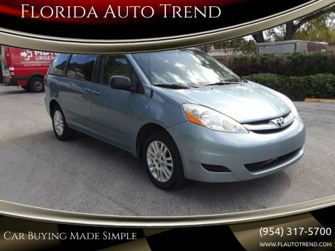 2009 Toyota Sienna for sale at Florida Auto Trend in Plantation FL