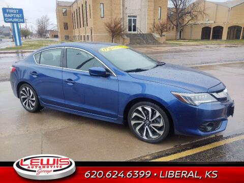 2017 Acura ILX for sale at Lewis Chevrolet Buick of Liberal in Liberal KS